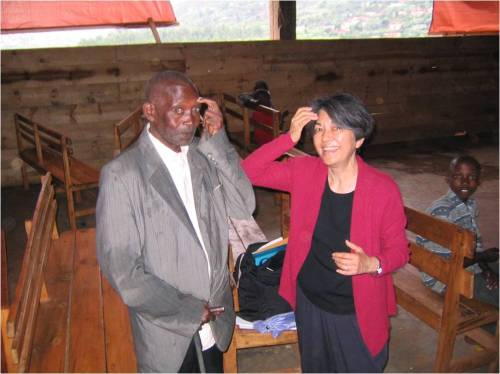 TFT trauma relief for Rwanda Genocide Survivor